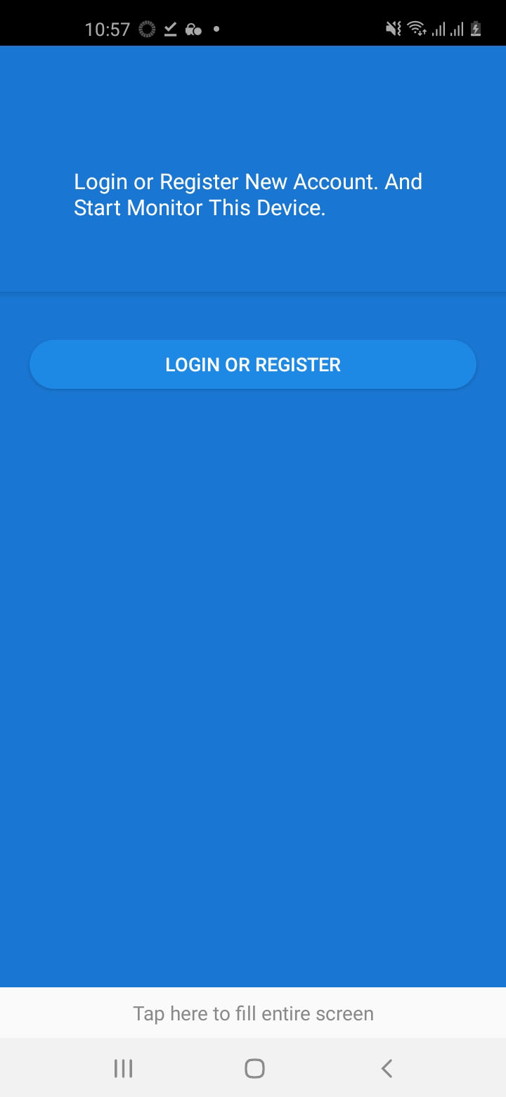 Step 2: Sign up