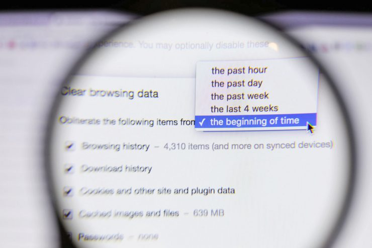 Track Internet Browser History